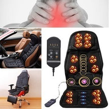 Load image into Gallery viewer, 2019 New Upgraded 8 Mode 3 Intensity Body Massage Cushion  Body Back Waist Relaxing Massage  Home Sofa Car Seat Massage Chair