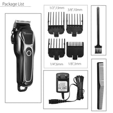 Load image into Gallery viewer, Surker Electric Hair Trimmer Shaver Cutter Clipper Men Beard Body Groomer