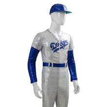 Load image into Gallery viewer, Rocketman Elton Cosplay Costume Glitter Baseball Jumpsuit Outfit Halloween Costume