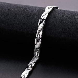 Fashion Twisted Healthy Magnetic Bracelet for Women Power Therapy Magnets Bracelets Bangles Men