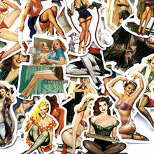 Load image into Gallery viewer, 25/50Pcs/pack Summer Sexy Women Graffiti Sticker Pack For Moto Car & Suitcase Cool Laptop Stickers Skateboard Sticker