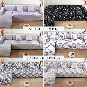Slipcovers Home & Living Sofa Cover L-Shape Recliner Protector Cover Set Couch Cover Sofa Towel for Living Room Sofa Cover L Shape Armchair Cover Single/Two/Three/Four Seater