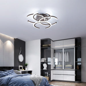 Fashion Acrylic LED Ceiling Light Pendant Lamp Hallway Bedroom Dimmable Fixture Home Decor