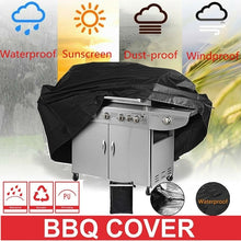 Load image into Gallery viewer, BBQ Cover Waterproof Barbecue Covers Garden Patio Grill Protector Anti Dust Rain Gas Charcoal Electric Barbeque