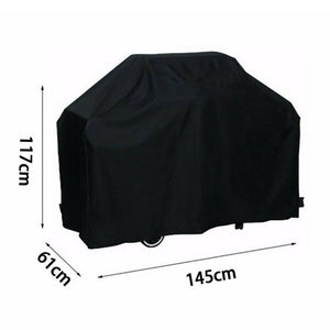 BBQ Cover Waterproof Barbecue Covers Garden Patio Grill Protector Anti Dust Rain Gas Charcoal Electric Barbeque