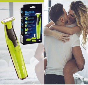 Multi Function Electric Shaver  Hair Removal System Body Wash Shaver Dry Battery Male Electric Razor