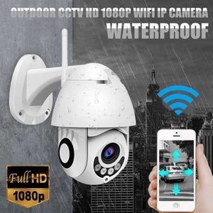 IP Camera Onvif WiFi 2MP 1080P Wireless Speed Dome CCTV IR Camera Outdoor Security Surveillance NetCam IP Camara Exterior TF Card