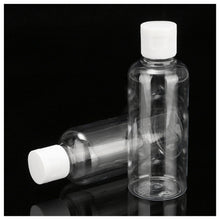Load image into Gallery viewer, 2pcs 100ml Clear Empty Spray Bottle Travel Plastic Perfume Atomizer Pump Bottles Travel Shampoo Lotion Cosmetic Container Flip Bottles