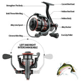 New Spinning Reel 5.0:1 Shallow Wire Cup Ultra Light Fishing Tackle for Lure-fishing Carp Fishing Reel