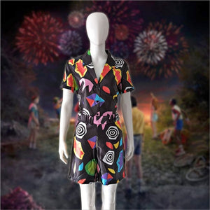 Stranger Things Season 3 Cosplay Eleven 11 Costume Dress Fancy Party Dress