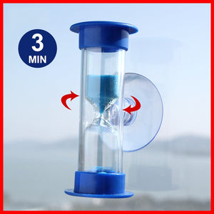 3/5 Min Blue Sand No Battery Needed Shower Timer 5min Save Water