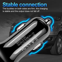 Load image into Gallery viewer, Car USB Charger Quick Charge 3.0 Mobile Phone Charger 3 Port USB Fast Car Charger for iPhone Huawei Samsung Xiaomi