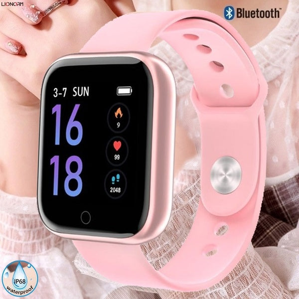 Smart Watch with Heart Rate Blood Pressure Monitor Waterproof Sport Activity Fitness Tracker Wearable Watch Montre intelligente for Men Women