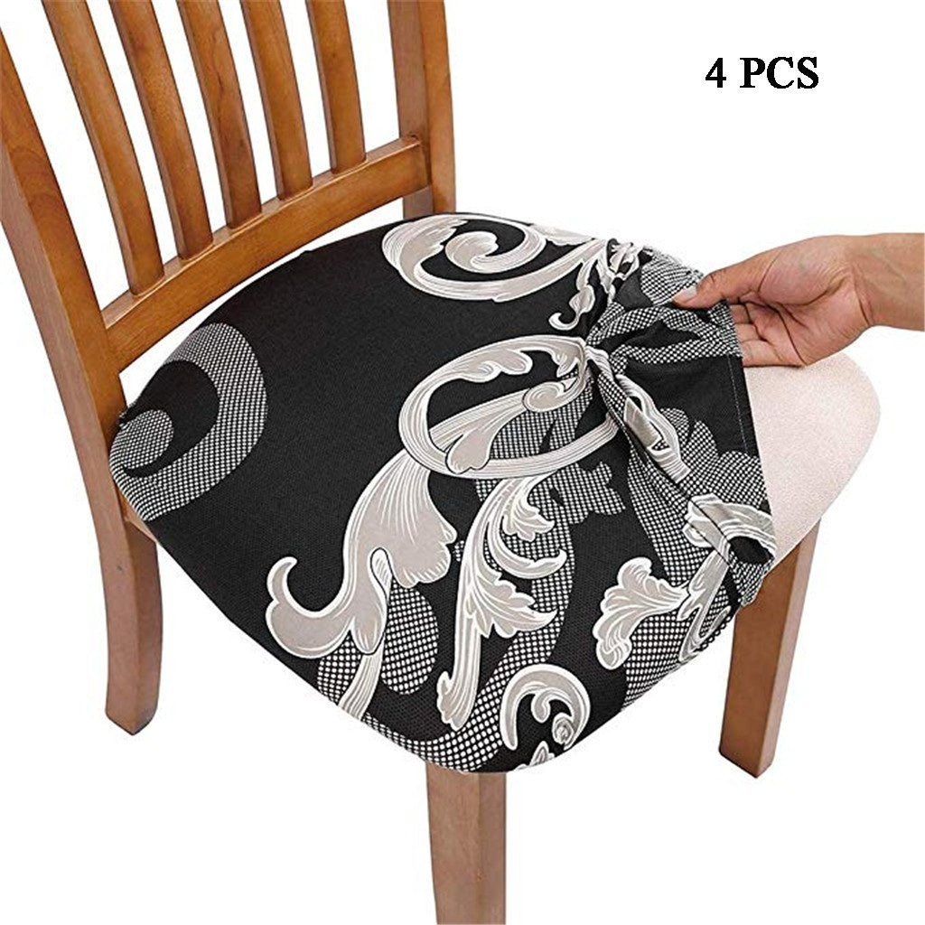 Chair Covers Dining Room Chair Protector Slipcovers Christmas Decoration 4PCS