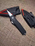 11 Inches Large Assisted Opening Knife Double Action Automatic Open Fast Blade Tactical Attack Knives