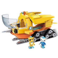 Load image into Gallery viewer, Octonauts Block GUP-S Polar Exploration Vehicle Barnacles kwazii 275pcs Educational Bricks Toy