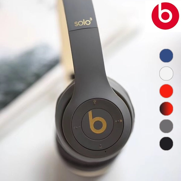 Refurbished Dr. Dre Solo.3 Wireless Pop Collection On Ear Outdoor Headphone 6 Colors