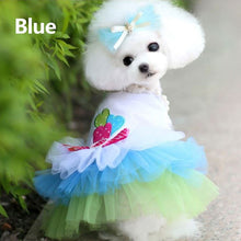 Load image into Gallery viewer, Pet Apparel Clothes Princess Dress Puppy Tutu Dog Costume Lace Pet Skirt Lip Love Cute Casual Formal