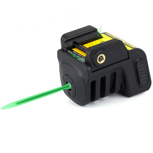 Tactical Rechargeable Green Laser Sight Scope w/ Mount for Gun Rifle Pistol built-in battery