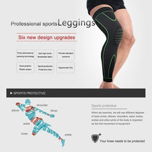 Load image into Gallery viewer, MUMIAN 1pc Multifunctional Hight Quality Knee Compression Sleeve - Best Knee Brace for Men & Women Knee Support for Running, Basketball, Weightlifting, Gym, Workout, Sports Please Check Sizing Chart