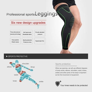 MUMIAN 1pc Multifunctional Hight Quality Knee Compression Sleeve - Best Knee Brace for Men & Women Knee Support for Running, Basketball, Weightlifting, Gym, Workout, Sports Please Check Sizing Chart