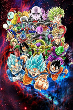 Load image into Gallery viewer, New 2020 5d Diamond Painting Dragon Ball Super Saiyan goku Full Square/Round Drill Crystal Mosaic Picture diy Diamond Embroidery