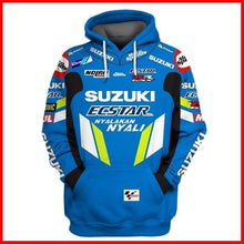 Load image into Gallery viewer, Men's Fall Winter Suzuki Riding Motorcycle Hooded