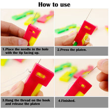 Load image into Gallery viewer, Practical Mini Home Automatic Sewing Needle Threading Guide Device Tool Threader