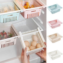 Load image into Gallery viewer, Hot Sale Slide Kitchen Fridge Freezer Space Saver Organizer Storage Rack Shelf Holde Drawer