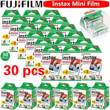 Load image into Gallery viewer, 10/20/30 Sheet Original Fuji Film Instant White Edge Photo Paper Suitable for Fujifilm Polaroid Instax Mini 9 8 7s 25 50s 9 90 Series Cameras