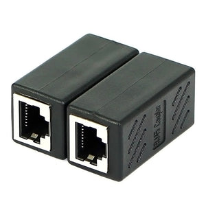 RJ45 Female To Female CAT6 Network Ethernet LAN Connector Adapter Coupler