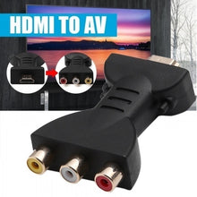 Load image into Gallery viewer, Flexible Portable HDMI to 3 RCA Video Audio AV Adapter Component Converter