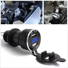 Load image into Gallery viewer, 4.2A Motorcycle Dual USB Charger For BMW F800 F650 F700 R1200 GS EU Plug