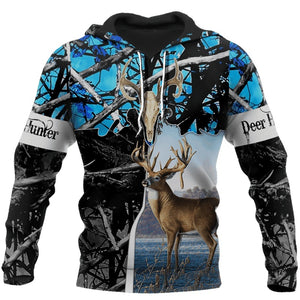 2020 New Hoodie Beutiful deer hunting camo 3D printed Hooded Sweatshirts Unisex Casual streetwear Hoody