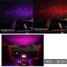 Load image into Gallery viewer, Decoration Light Car Roof Lights Romantic USB Night Light Atmosphere Lamp Home Ceiling Decoration Light