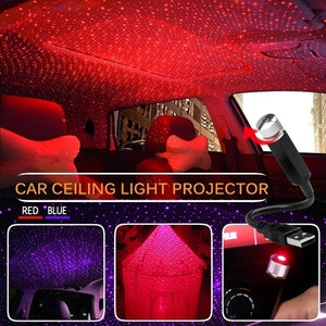 Decoration Light Car Roof Lights Romantic USB Night Light Atmosphere Lamp Home Ceiling Decoration Light
