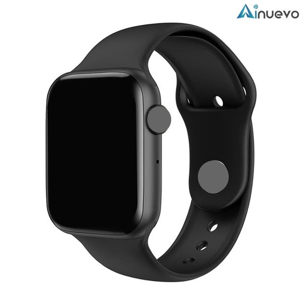 Ainuevo Smart Watch - 1.54' 2.5D HD IPS Full Touch Screen ECG Heart Rate Monitor Bluetooth Call For All Smart Phone Android Phone