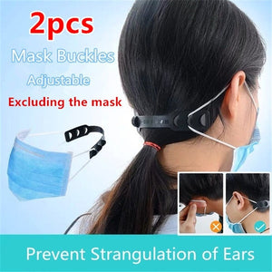 2pcs Mask Dust Masks Artifact Anti Lock Mask Buckle Ear Protection