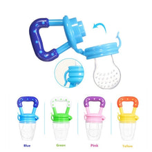 Load image into Gallery viewer, 1Pcs Fresh Fruit Food Baby Nipple Feeding Safe Fruit Feeder Nipples Feeding for Infant Supplies Nipple Teat Pacifier