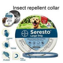 Load image into Gallery viewer, New Mosquito Repellent Dog Repellent Collar Cat Teddy Small Medium and Large Dogs Preventing Flea Ring Anti-lice Pet Collar