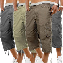 Load image into Gallery viewer, Cargo Shorts Men Summer Casual Mulit-Pocket Shorts Men Joggers Shorts