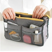 Load image into Gallery viewer, Bag women Practical Handbag Purse Nylon Dual Organizer Insert Cosmetic Storage