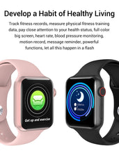 Load image into Gallery viewer, Newest Bluetooth Smart Watch Body Immunity Monitoring Temperature Measurement Heart Rate Monitor for IOS Android Phone Bracelet Watch Waterproof Smart Watch PK Watch Series 5