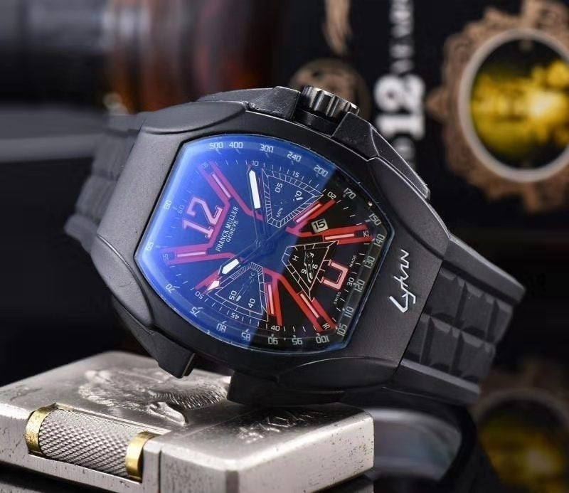 Leather Men's Watches SPORT Wristwatch Casual Watch Clock Gift