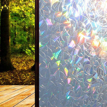 Load image into Gallery viewer, Waterproof Glass Window DIY Rainbow Effect Sticker 45*100CM Film Decor Home Privacy