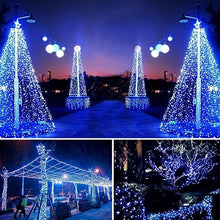 Load image into Gallery viewer, 1M/2M/3M//5M/10M/15M/20M 10/30/50/100/150/200LEDs Solar String Lights 8 Modes Solar Powered /USB Powered Copper Wire Fairy Lights IP65 Waterproof Indoor Outdoor Lighting for Home, Garden, Party, Path, Lawn, Wedding, Christmas, DIY Decoration