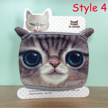 Load image into Gallery viewer, 1 Pc Cute Cotton Dustproof Face Mask 3D Cat Printed Men and Women funny Masks