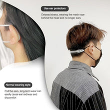 Load image into Gallery viewer, 3 Pcs Universal Mask Buckle Ear Protection Mask Hook Disposable Mask Artifact Anti Lock Mask Accessories