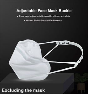 3 Pcs Universal Mask Buckle Ear Protection Mask Hook Disposable Mask Artifact Anti Lock Mask Accessories