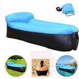 Upgrade High Quality 210T Oxford Fast Inflatable Lazy Sofa Lounger Air Sofa Unicorn Bean Bag Chair Outdoor Beach Lounger for Home Garden Lawn Travelling Camping